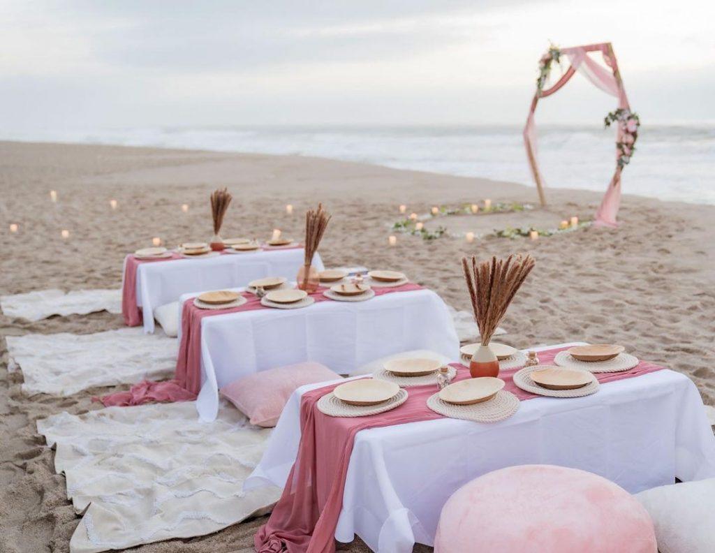 Beach wedding decor ideas
